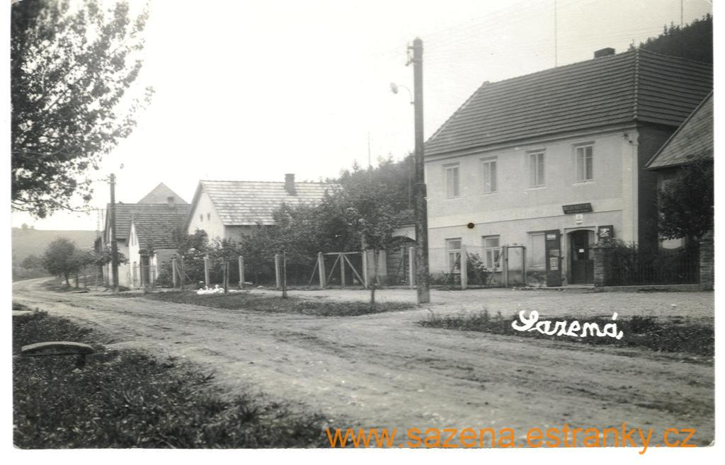8 Pohlednice asi 1947